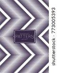 abstract geometric vector...   Shutterstock .eps vector #773005393