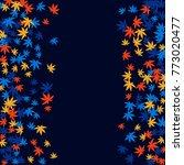 vector confetti background...   Shutterstock .eps vector #773020477