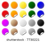 collection of colorful tags.... | Shutterstock .eps vector #7730221