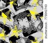 abstract seamless grunge sport...   Shutterstock .eps vector #773042743