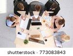 business handshake. business...   Shutterstock . vector #773083843