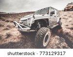jeep outdoors adventures | Shutterstock . vector #773129317