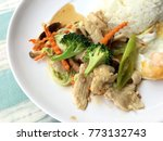 stir fried vegetables with thai ...