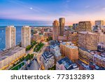boston  massachusetts  usa... | Shutterstock . vector #773132893
