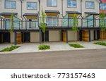 garage  garage doors and... | Shutterstock . vector #773157463