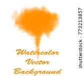 abstract  watercolor splashing...   Shutterstock .eps vector #773213857