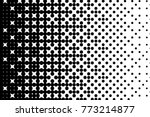 abstract futuristic halftone... | Shutterstock .eps vector #773214877