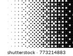 abstract futuristic halftone... | Shutterstock .eps vector #773214883