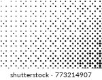 abstract futuristic halftone... | Shutterstock .eps vector #773214907