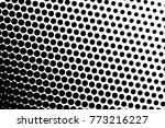 abstract futuristic halftone... | Shutterstock .eps vector #773216227