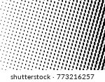 abstract futuristic halftone... | Shutterstock .eps vector #773216257