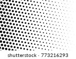 abstract futuristic halftone... | Shutterstock .eps vector #773216293
