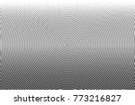 abstract monochrome halftone... | Shutterstock .eps vector #773216827