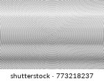 abstract futuristic halftone... | Shutterstock .eps vector #773218237