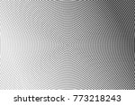 abstract futuristic halftone... | Shutterstock .eps vector #773218243