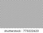 abstract monochrome halftone... | Shutterstock .eps vector #773222623