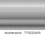 abstract monochrome halftone... | Shutterstock .eps vector #773222653