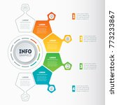 vector infographics of...   Shutterstock .eps vector #773233867
