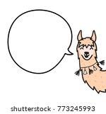 vector illustration of cute... | Shutterstock .eps vector #773245993