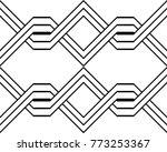design seamless monochrome... | Shutterstock .eps vector #773253367