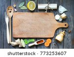 food background concept with... | Shutterstock . vector #773253607
