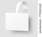 vector white rectangular self... | Shutterstock .eps vector #773262163