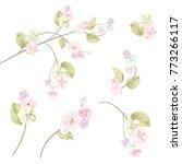 spring blossom  bloom  ... | Shutterstock .eps vector #773266117