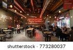 bologna  italy   circa december ... | Shutterstock . vector #773280037