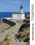 Small photo of Spain Costa Brava Cala Nans lighthouse, Mediterranean sea, Cadaques, Cap de Creus, Alt Emporda, Catalonia