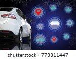 car technology digital virtual... | Shutterstock . vector #773311447
