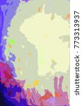 color abstract digital... | Shutterstock . vector #773313937