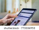 johannesburg  south africa 12...   Shutterstock . vector #773336953