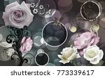 flowers abstraction. photo... | Shutterstock . vector #773339617
