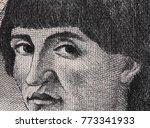 niccolo machiavelli face... | Shutterstock . vector #773341933