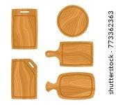 vector set of cartoon cutting... | Shutterstock .eps vector #773362363