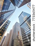 looking up at new york city... | Shutterstock . vector #773365477