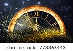 happy new year background with... | Shutterstock .eps vector #773366443
