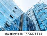 the skyscraper is in chongqing  ... | Shutterstock . vector #773375563