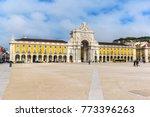 commerce square  praca do... | Shutterstock . vector #773396263