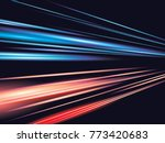 speed movement pattern design... | Shutterstock .eps vector #773420683