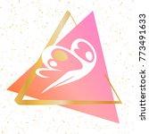 template logo for fitness ... | Shutterstock .eps vector #773491633