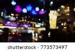 blurred colorful lights... | Shutterstock . vector #773573497