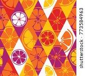 vector seamless pattern set...   Shutterstock .eps vector #773584963