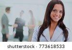 portrait of a business woman... | Shutterstock . vector #773618533