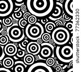 black and white seventies... | Shutterstock . vector #77362330