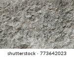 grey granite rock background... | Shutterstock . vector #773642023