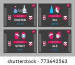 set of labels for craft beer....   Shutterstock .eps vector #773642563