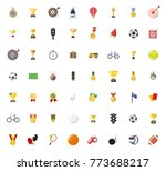 sports icons set   Shutterstock .eps vector #773688217