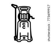 black outline illustration of... | Shutterstock .eps vector #773699917