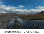 iceland road to natural...   Shutterstock . vector #773727463